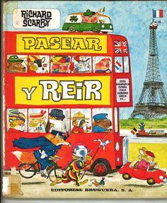 Richard Scarry - Busy, Busy World - one of my favorite childhood books! Richard Scarry, Delphine, Little Golden Books, My Childhood Memories, Childhood Toys, Sweet Memories, Vintage Children's Books, Vintage Ephemera, Children's Book Illustration