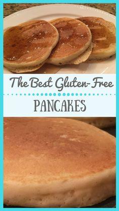 Gluten-Free Buttermilk Pancakes   Look no further for a delicious breakfast recipe   #breakfast #pancakes #glutenfree