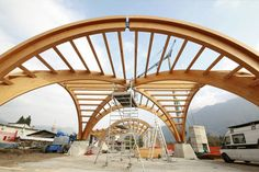 curved wood framing - Google Search