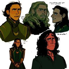 """""""Trust my rage"""" is probably one of my favorite Loki quotes."""