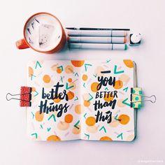 visual journal, diary, font, creativity, Eugenia Clara Fendri