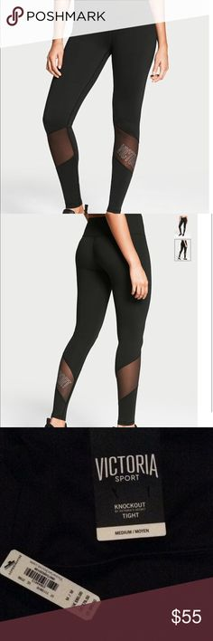 🆕 Knockout by VS tights Brand new regular Victoria's Secret Pants Track Pants & Joggers
