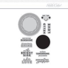 Stamp Set: 4x6 Sunburst by One Little Bird at Studio Calico