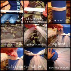 how to make tutus