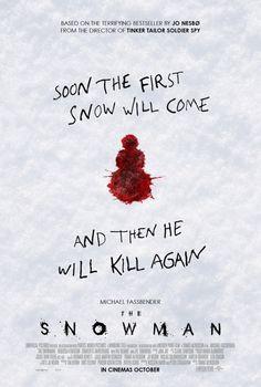 The Snowman (2017) dir. Tomas Alfredson