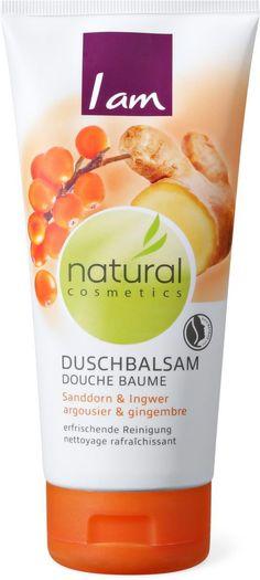 I am Duschgel Sanddorn / Ingwer