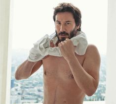 keanu reeves gay | Keanu Reeves makes an appearance for the latest issue of Vogue Hommes ...
