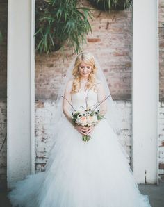 Southern Bayou Inspired Wedding Katie Jeremy Part One Dress TumblrMaggie SotteroGreen