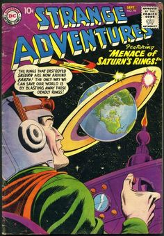 Mystery in Space is the name of two science fiction American comic book series published by DC Comics and a stand alone Vertigo anthology released in 2012. The first series ran for 110 issues from 1951 to 1966, with a further 7 issues continuing the numbering during a 1980s revival of the title. An 8-issue limited series began in 2006. http://en.wikipedia.org/wiki/Mystery_in_Space http://www.coverbrowser.com/covers/mystery-in-space