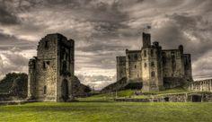Warkworth Castle. - Imgur