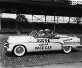 1954 Indy 500 Pace Car with Roy Rogers driving