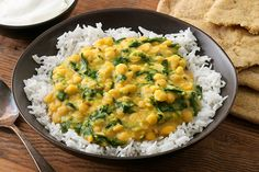 Easy Spinach Dal (Dhal, Dhall). So good! My modifications: 1 cup red lentils cooked in 4 cups water. 1 t. Cumin seeds and 3/4 t. Turmeric toasted in 3 T. ghee, then add 2 T. Minced ginger, 3 large minced garlic cloves, and 4 oz finely chopped spinach. Add spices to lentils, add juice of half a lime, and season with salt. Toddler loves it!