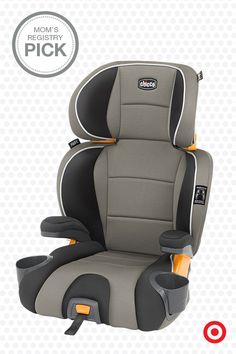 You and your child will like the Chicco KidFit Booster Car Seat. You'll like its LATCH compatibility, side-impact protection and that it converts to a backless booster. Your kid will like that it's comfy and has cup holders.