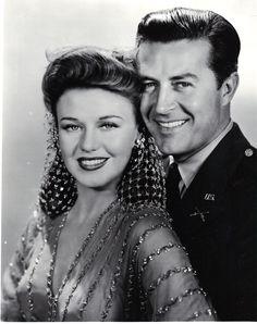 Ginger Rogers and Ray Milland The Major and the Minor - I love this dress.  It is a shame that Ray Milland never sees Ginger in this dress in the film.