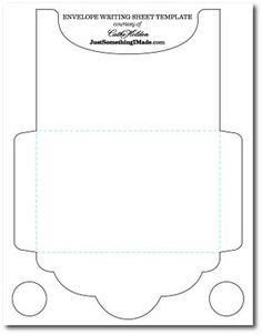 Standard A Envelope Template SideOpeningShort Template