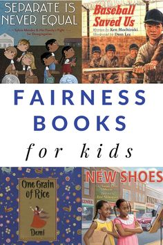 Read these children's books about fairness to generate conversations with kids about fairness, equality, and justice. Great picture book recommendations to use with kids of all ages. Emotional Books, Social Emotional Learning, Character Education, Kids Education, Book Suggestions, Book Recommendations, Best Children Books, Childrens Books, Thinking Day