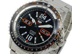 Seiko 5 Sport Men& Automatic Pilot& Watch - In Stock, Free Next Day Delivery, Our Price: Buy Online Now Seiko 5 Sports, Seiko Men, Seiko Watches, Sport Man, 100m, Pilot, Delivery, Stuff To Buy, Accessories