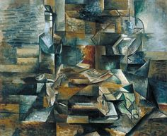 Georges Braque, 'Bottle and Fishes' c.1910–2