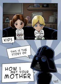 Star Wars meets How Met Your Mother
