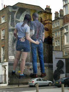 Herbrand Street art.