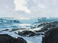 Art and Influence: Frederick Waugh Notes on Marine Painting. 'No Doubt the sea is a difficult subject. To paint it convincingly means long, careful observation of its many phases and anatomy, for the sea has anatomy.'