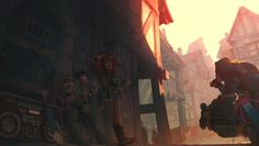 ArtStation - chevaliers du ghetto, Samkat Yin