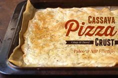 Cassava pizza is a magical food for paleo peeps and folks using the Auto-Immune Paleo (AIP) approach to heal from auto-immune conditions.