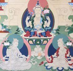 Avalokiteśvara སྤྱན་