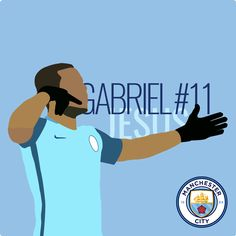 Gabriel Jesus #11 - Manchester City