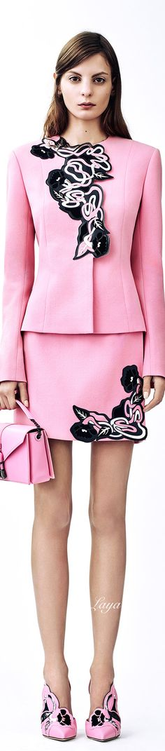 Christopher Kane Pre-Fall 2015  - head to toe matchy match...