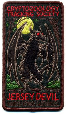 Cryptozoology Tracking Society: Jersey Devil Patch