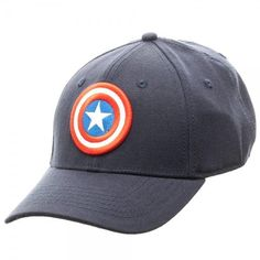 0b0b8fe6eac9c Marvel Captain America Flex Cap