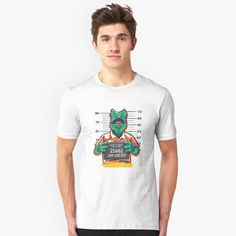 'Gringo Gecko' T-Shirt by SchoomDesigns Funny Tees, Store Design, Tshirt Colors, Female Models, Heather Grey, Classic T Shirts, Shirt Designs, Mens Tops, Cotton
