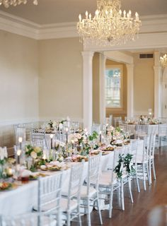 Muted rose colors,  elegant earth tones and streaks of gold create a divine bohemian setting for these tables at Separk Mansion!