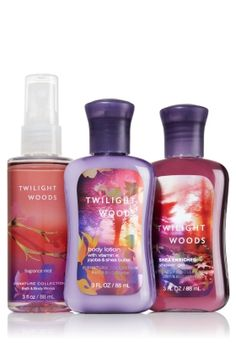 Twilight Woods™ Travel Size Body Care Bundle - Signature Collection - Bath & Body Works