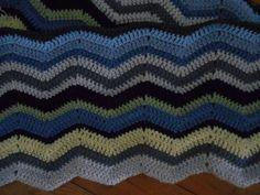 vagues crochet