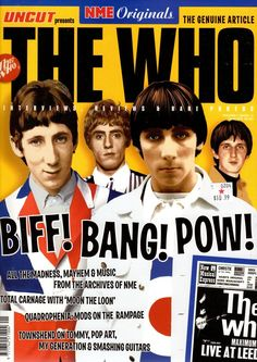 The Who (Magazine Cover)