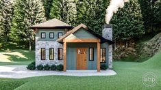 Plan Tiny House or Vacation Getaway Best Tiny House, Tiny House Plans, House Floor Plans, Tiny Cabin Plans, Unique Small House Plans, Small Rustic House, Tiny House Builders, Modern Tiny House, Cute Small Houses