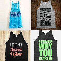 10 Motivational Tees and Tanks