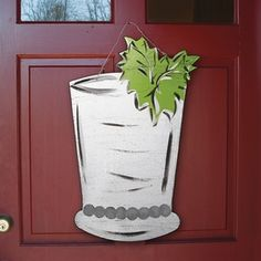 Mint Julep Door Decoration Kentucky Derby Decorations - KY Derby Gifts at Horse and Hound Gallery