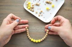 For the Makers: Lemon Drop Necklace
