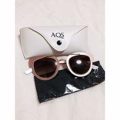 Aquaswiss Sunglasses - Brand new!! AQS Sunglasses in Rose Gold / White • Brand new, never worn!! • Jolene style: JO003 Aquaswiss Accessories Sunglasses