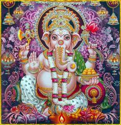 GANESH Sri Ganesh, Lord Ganesha, Lord Shiva, Shiva Art, Shiva Shakti, Hindu Art, Ganesh Images, Krishna Images, Indian Gods