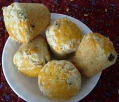 Savory Onion-Bacon Cheese Muffins