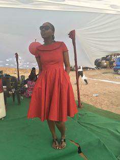 African Attire, African Dress, Shweshwe Dresses, African Traditional Dresses, African Prints, African Fashion, Eve, Vintage, Design