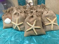 Under the Sea Birthday Party Ideas Little Mermaid Birthday, Little Mermaid Parties, Mermaid Baby Showers, Baby Mermaid, Burlap Party, Mermaid Party Decorations, Baby Shower Party Favors, Beach Party Favors, Mermaid Party Favors