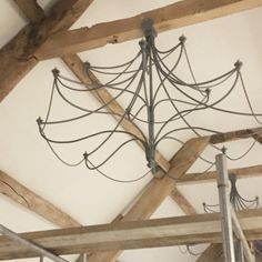 Fitted some chandeliers yesterday just waiting for the...