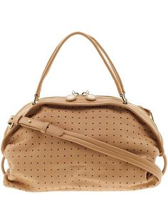 Perforated Bluebell Shoulder Bag  Product Image