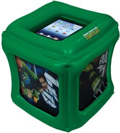 CTA - Universal iPad® Teenage Mutant Ninja Turtles® Inflatable Play Cube