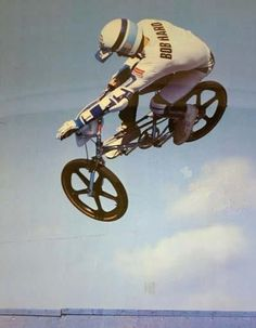 BOB HARO. The GRANDFATHER of freestyle BMX